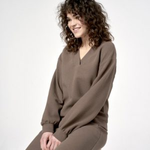 Simple Agnes Sweater Taupe